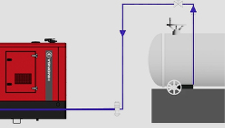Generator set fuel supply: when and how should we use an external tank?